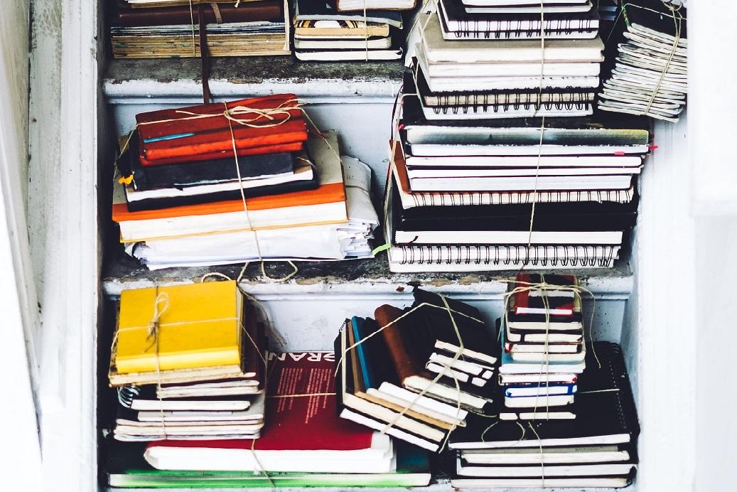 stacks of journals on stairs2_julia joppien